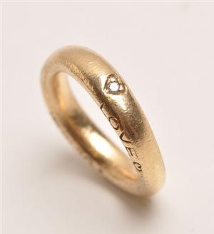Ole Lynggaard LOVE-ring - love myself - be strong be brave - because i am worth it