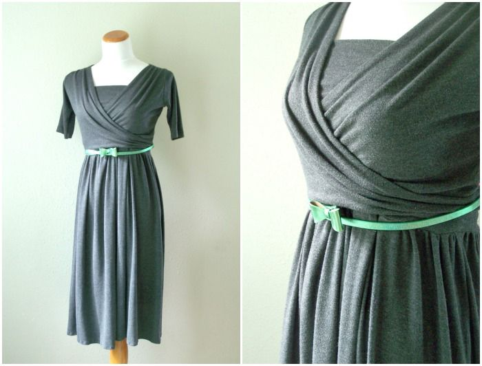 Jerseykleid mit Stillfunktion (kostenloser Schnitt und Anleitung)