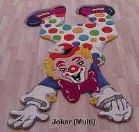 4interior.ro Covor copii din lana Joker - 120x180 cm - Covoare copii: Covoare pentru copii din lana 100%, lucrate manual in India, cu grosime: 25-35mm.