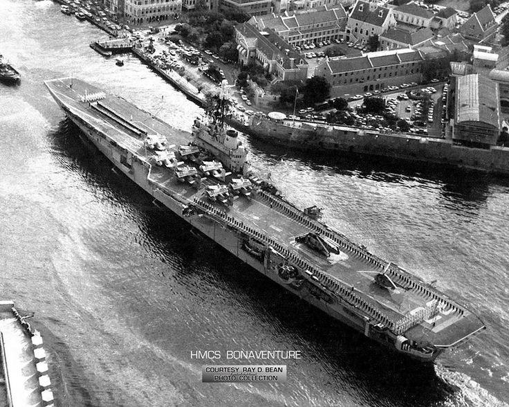 HMCS BONAVENTURE CVL 22 .....