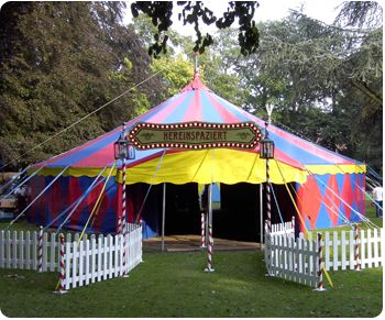 Zirkus Merlin - Zirkuszelt mieten, Hüpfburg, Kinder Animation