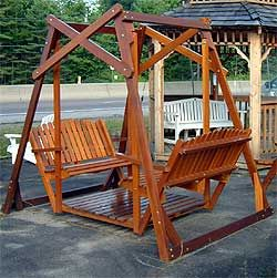 And garden arbors furniture swinging bench free plans when keiran