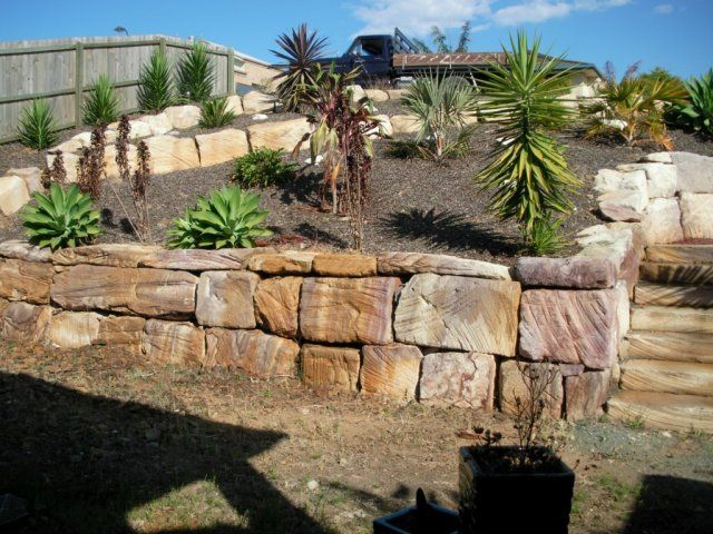807 best Retaining Walls images on Pinterest Landscaping ideas