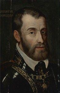 Emperor Charles V - nephew of Katherine of Aragon
