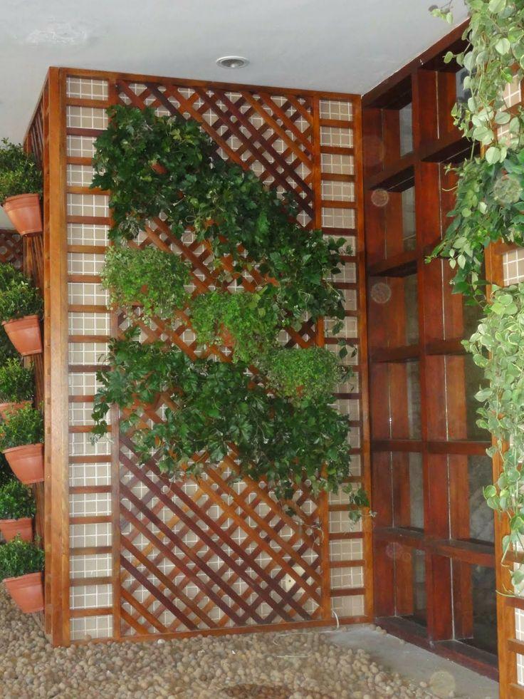 jardim vertical no muro : jardim vertical no muro:Decoração – Jardim Vertical – Segundo Eu