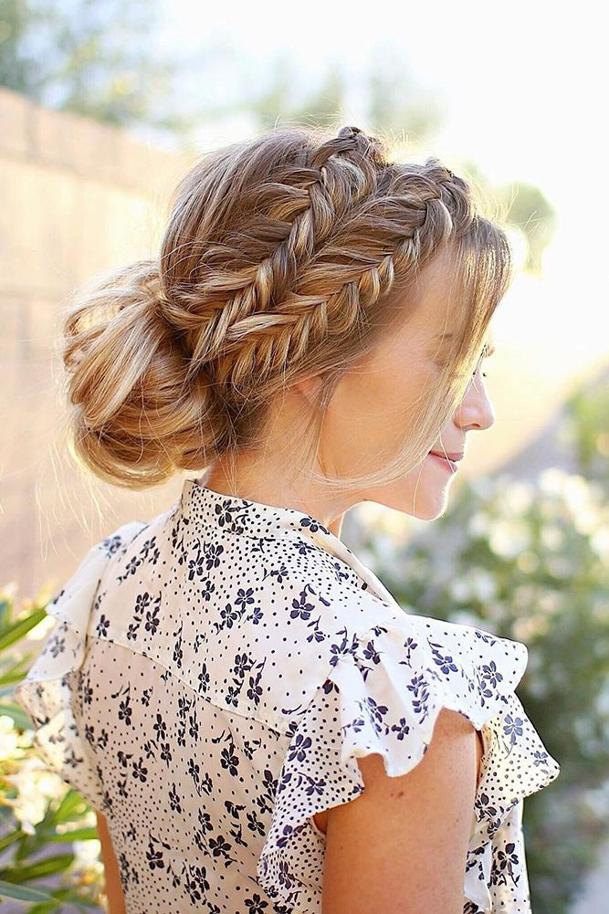 Wedding Hairstyles For Long Hair Bridal Updos For Long: Best 25+ Bridesmaid Hair Ideas On Pinterest