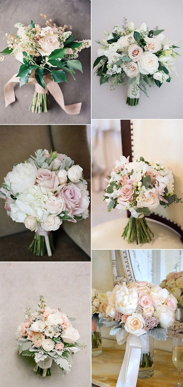 blush pink wedding bouquets for 2018 trends #weddingbouquets #weddingflowers #weddingdecor #bridalbouquets
