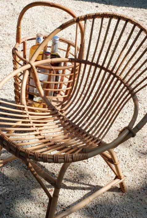 le retour du rotin vintage r tro rotin rattan siege seat le retour du. Black Bedroom Furniture Sets. Home Design Ideas
