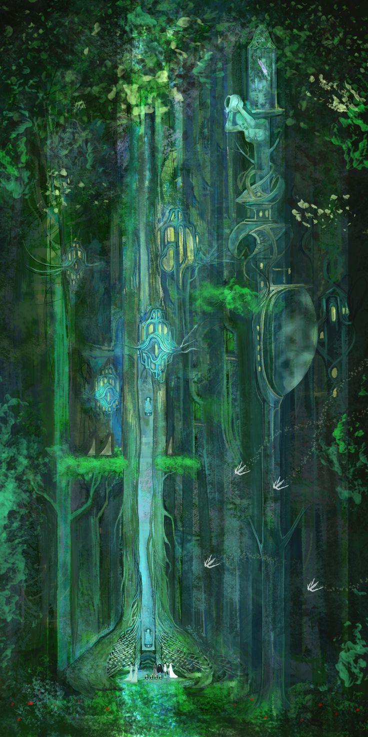 elf forest, hobbit