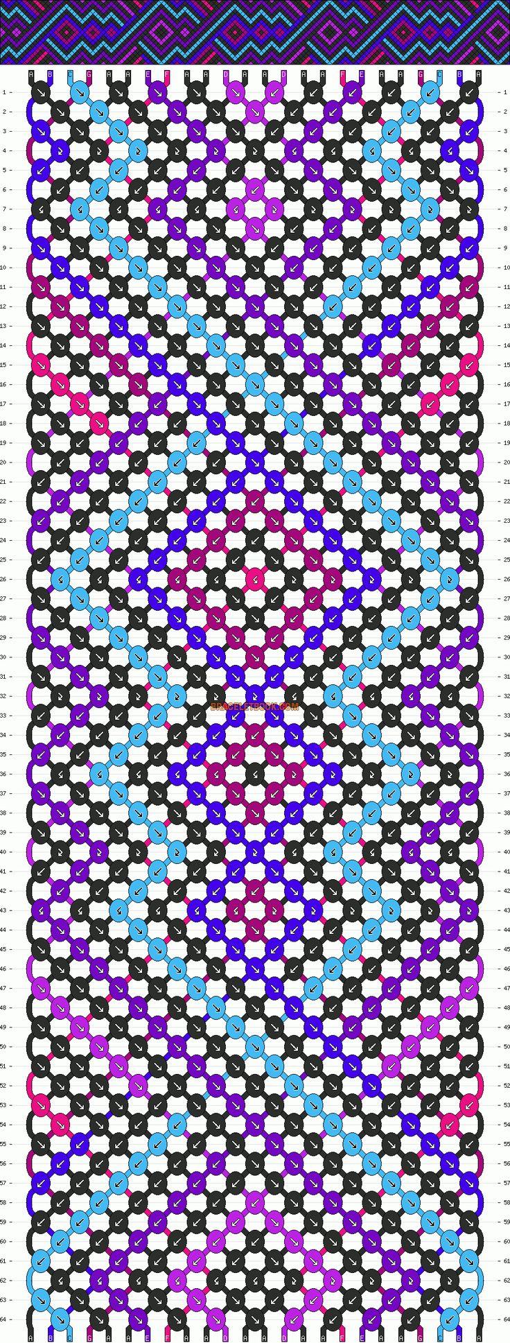 Normal Pattern #4459 Added By Beutysoul · Friendship Bracelets  Tutorialfriendship