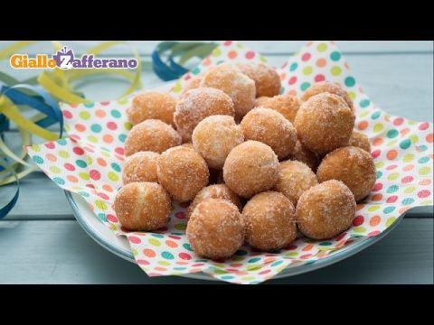 FRITTELLE SOFFICI AL LIMONE Ricetta Facile. Le Frittelle al Cucchiaio di Nonna pronte in 5 minuti - YouTube