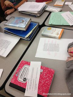 Great Ideas for Middle & High School writing assignments - can be used in just about every subject!