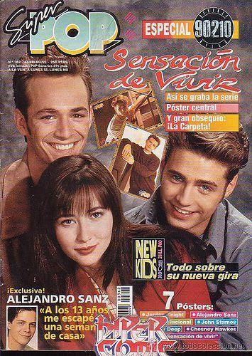 Super Pop, revista para el público adolescente muy popular en los años 90