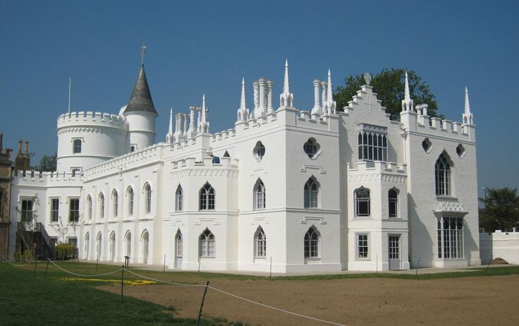 Strawberry Hill House in Twickenham, London,  England is a Gothic Revival villa built by Horace Walpole from 1749. Open to the public