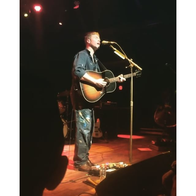 Josh Ritter & Barnstar! performed on Friday at Terminal West