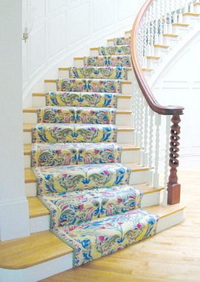 階段をオシャレにDIY♪ - 偕成不動産