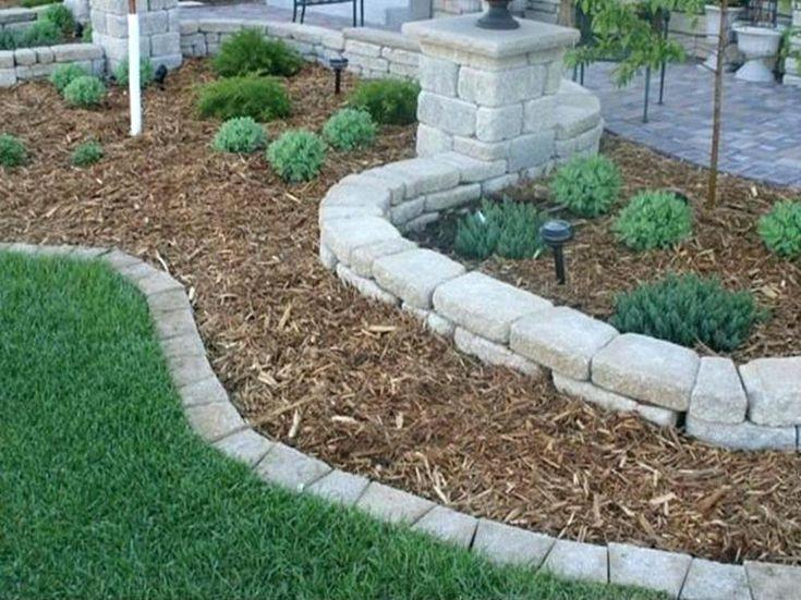 Image Result For White Stone Garden Edging Garden Edging 400 x 300