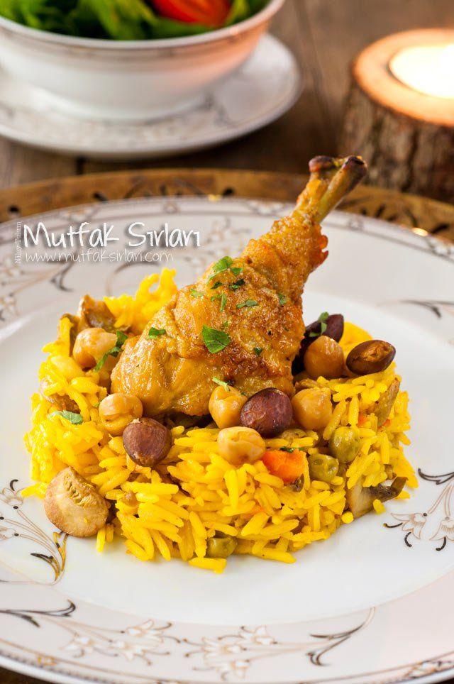 Nohutlu Bademli Tavuk Tarifi   Mutfak Sırları