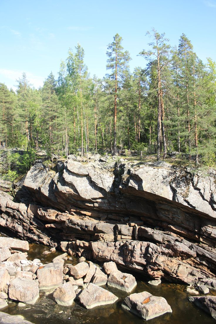 Imatrankoski #Finland #summertrip