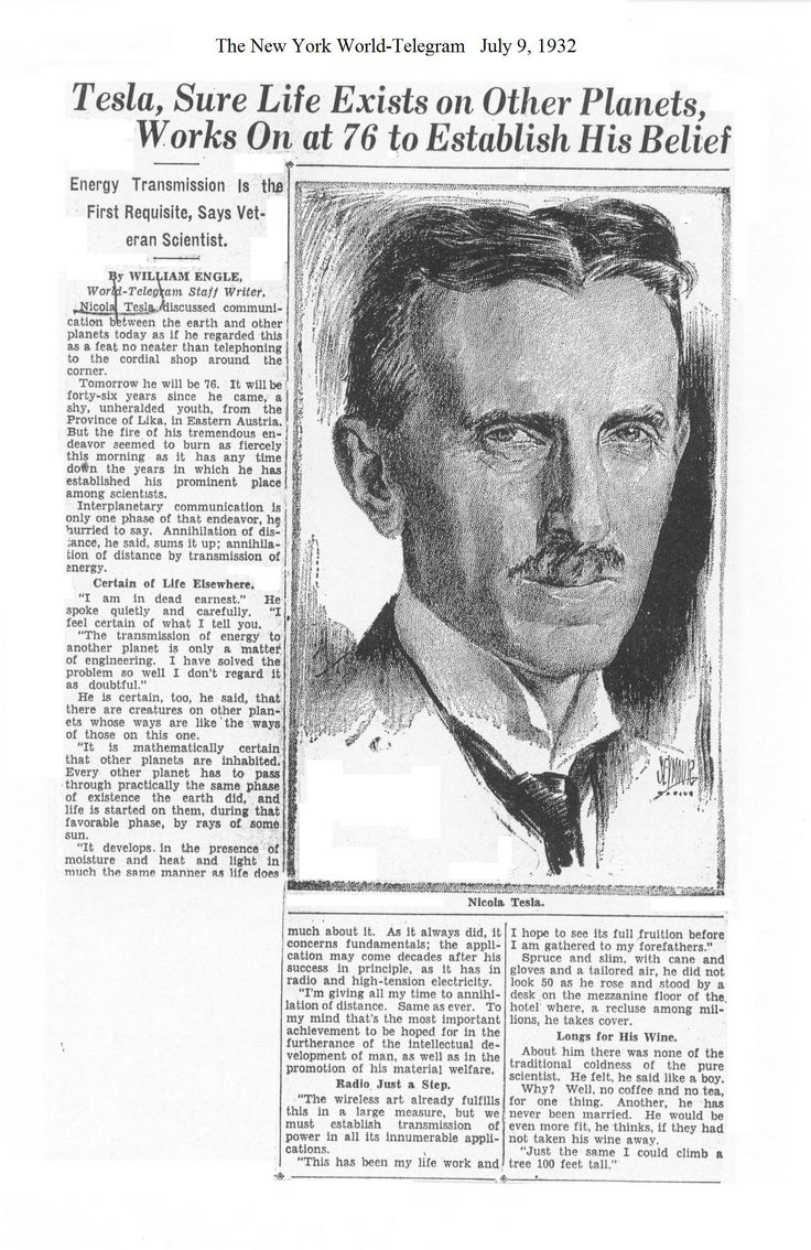 Quot The Tesla Collection Quot Quot Bonus Volume New York Sun Tesla
