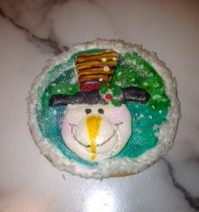Christmas cookie - Sharon V
