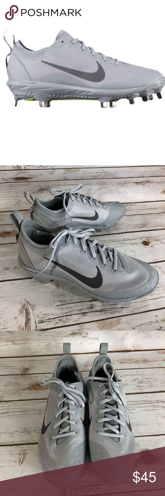Nike Hyperdiamond Lunarlon Women's Softball Cleats New without Box Metal Cleats A333 Nike Shoes Sneakers
