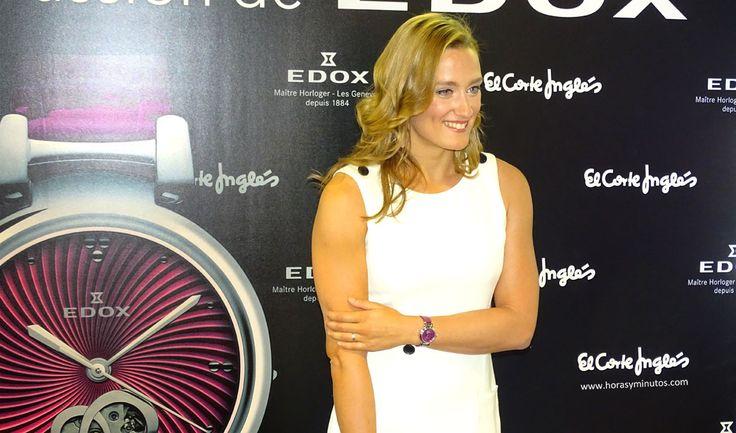 Edox LaPassion Mireia Belmonte con el nuevo reloj