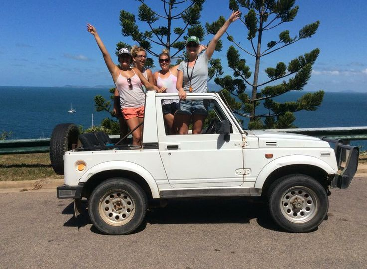 Rent a Barbie jeep and see all of magnetic island Queensland Australia!