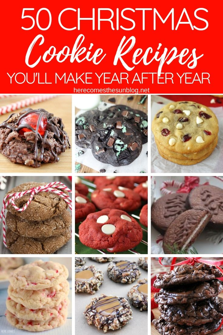 50 Christmas Cookie Recipes You Ll Make Year After Year Kelly