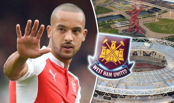 I'll drive him to Upton Park! Fans react to West Ham's interest in Arsenal's Theo Walcott   via Arsenal FC - Latest news gossip and videos http://ift.tt/1SZCZcR  Arsenal FC - Latest news gossip and videos IFTTT