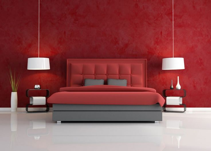 red colored bedrooms. red bedroom red pinterest paint colors