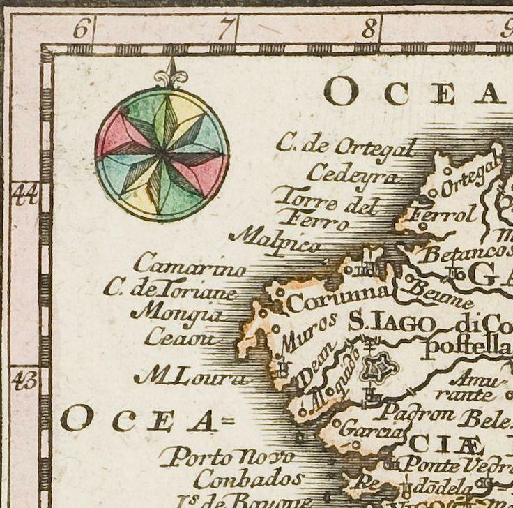 Carte d'Espagne et du Portugal Archives nationales, 6/JJ/57/40 © Archives Nationales (France) \ Carole Bauer