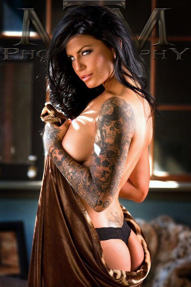 Alluring tatoo hot girl 2