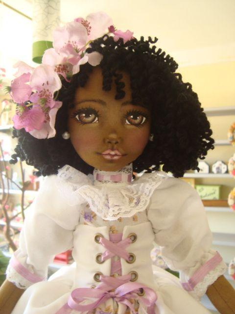 Bonecas de pano. Bonecas negras. Soraia Flores.