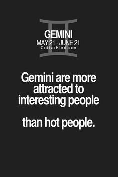 But there's nothing wrong with hot interesting people either!