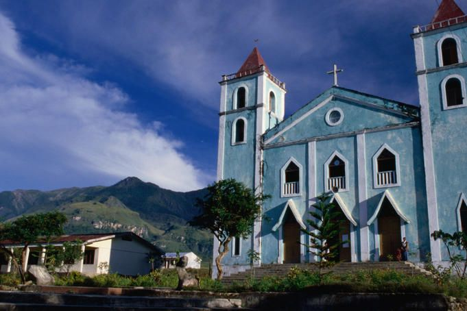 Exterior of Catholic Church. - East Timor, next dream destination