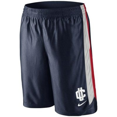$35 Nike UConn Huskies Basketball Tourney 3 Shorts - Navy Blue