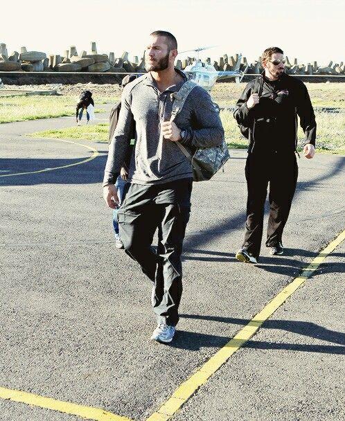 Wade barrett and Randy orton