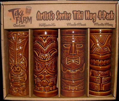 Tiki Party Luau Mug-Bar Mugs