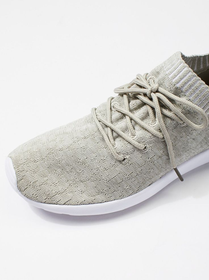 MOVMT Vegan Cabo Sneaker   Ultra comfortable and breathable vegan knit sneakers featuring a specially cushioned footbed for performance-ready support. * Classic lace-up design * The upper is flyknit combines vegetable fiber cotton textile with man made stretch textile * The sock liner is a sport breathable stretch Lycra man made textile * Rubber bottom **Sizing Tip:** This style runs true to size.