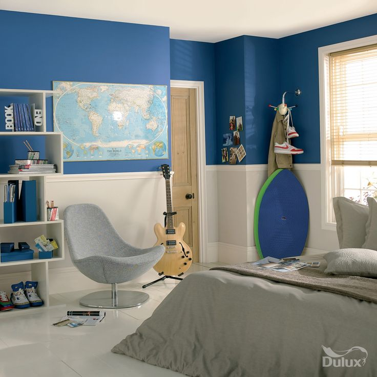 Room Interior Bedroom Neutral Bedroom Decor Ideas Bedroom Design With Metal Bed Navy Blue Bedroom Paint: 16 Best Boys Room Painting & Decorating Ideas Images On