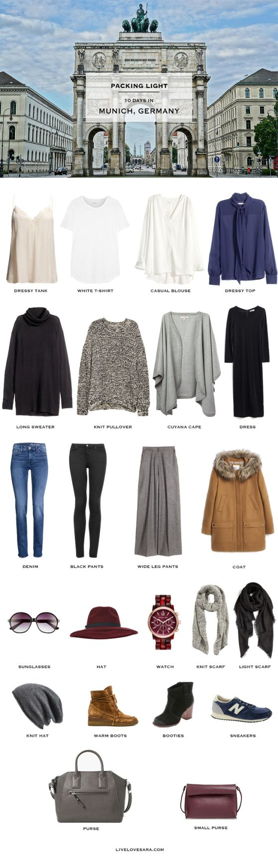 Autumn Packing List