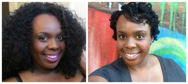 Big Girls & Short Hair: My SisterLocks Install at Sabine's Hallway (Natural Hair Salon NYC) - Plus Size Princess
