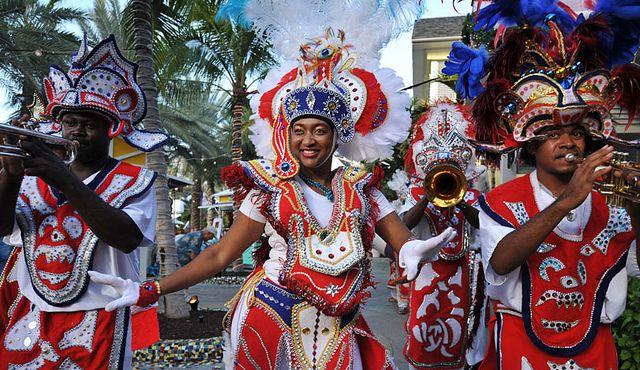junkanoo and christmas in bahamas  bahamian bahamas