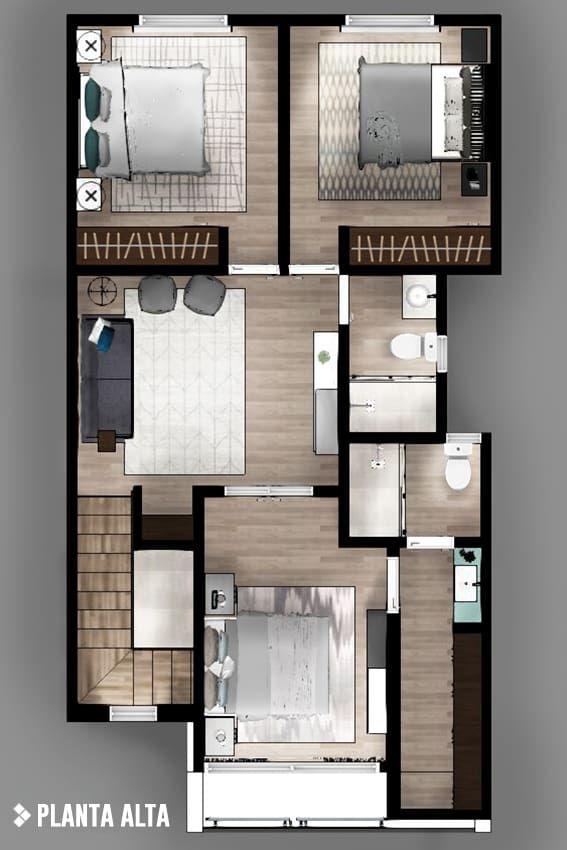 M s de 25 ideas incre bles sobre casas bellas en pinterest - Ikea planos faciles ...