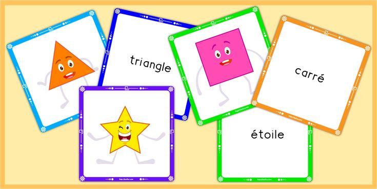 Formes géométriques, les solides, jeu de géométrie maternelle, Cycle 2 et Cycle 3. Jeux de géométrie