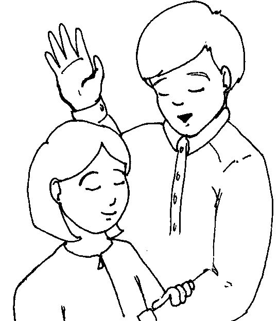 Girl 39 s Baptism Coloring Page