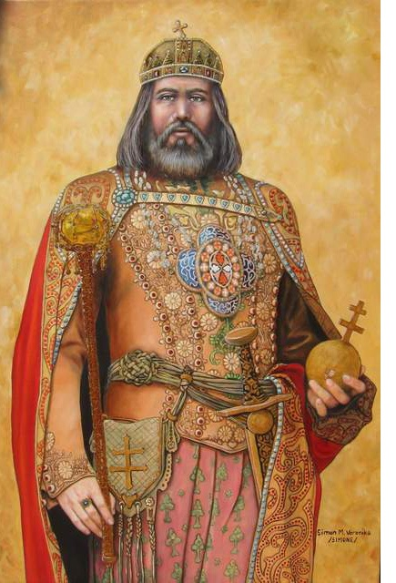 Vajk fejedelem, majd I. Szent István király (államalapító, Géza fejedelem fia…