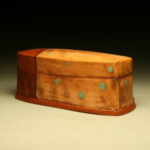 Marty Fielding Pottery -  box