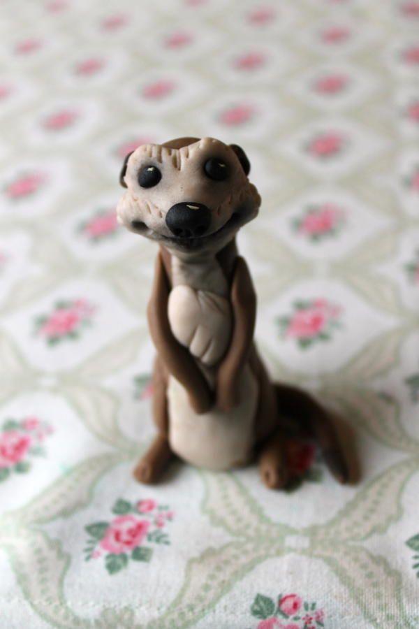Little Meerkat model - youtube tutorial coming soon :) https://www.youtube.com/user/zoesfancycakes